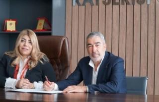 Teknik direktör Samet Aybaba, Kayserispor'la...