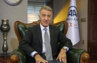 Trabzonspor Kulübü Başkanı Ahmet Ağaoğlu: Sörloth'ta...