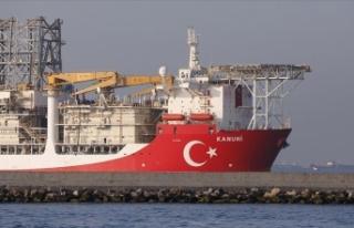 Türkiye'nin 3. sondaj gemisi Kanuni Karadeniz'e...