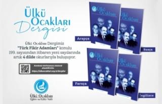 Ülkü Ocakları Dergisi artık Türkçe dışında...