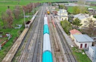 Yenilenen Samsun-Sivas Demir Yolu hattı uluslararası...