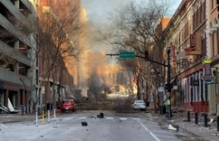 ABD'nin Nashville kentindeki şiddetli patlamada...