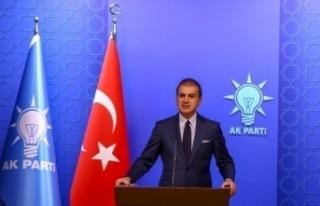 """AK Parti Sözcüsü Çelik: """"ABD'nin yaptırım..."""