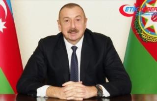 Azerbaycan Cumhurbaşkanı Aliyev: Bugün Erdoğan'ın...