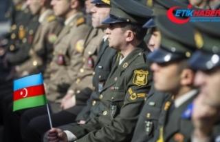 Azerbaycan ordusu Dağlık Karabağ'daki savaşta...