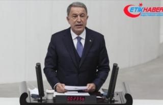 Bakan Akar: Akdeniz'de gerilimi tırmandırmak isteyen...