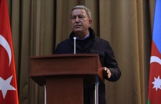 Bakan Akar: Azerbaycanlı kardeşlerimizin hakkını...