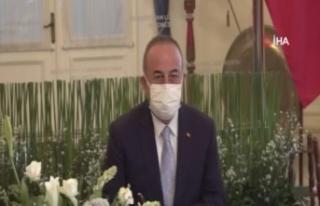 """Bakan Çavuşoğlu: """"Türkiye'nin kamu-özel..."""
