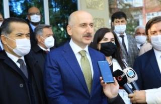 """Bakan Karaismailoğlu: """"Ankara - Niğde Otoyolunun..."""