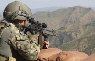 Barış Pınarı bölgesinde 7 PKK/YPG'li terörist...