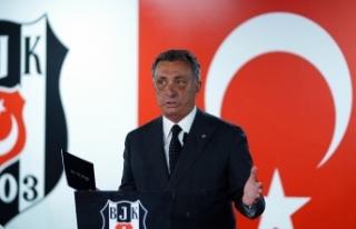 Başkan Ahmet Nur Çebi'den yeni yıl mesajı