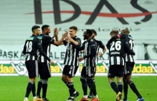 Beşiktaş, kalesini yine gole kapattı