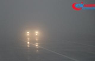 Bolu Dağı'nda sis görüş mesafesini 10 metre...