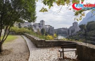 Bosna Hersek'in Mostar şehrinde 12 yıl sonra...
