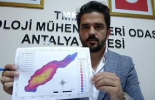 Burdur Gölü'nün su seviyesi son 50 yılda 17...