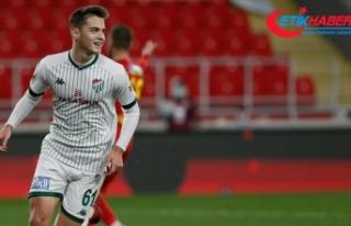 Bursaspor'un genç futbolcusu Batuhan Kör'ün...