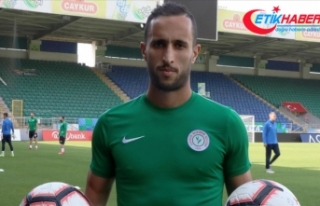 Çaykur Rizespor'un eski oyuncusu Faslı Abarhoun...