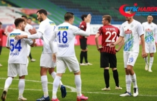 Çaykur Rizespor Ziraat Türkiye Kupası'nda...