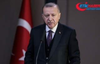 Cumhurbaşkanı Erdoğan: Hamdolsun bugün yıldız...