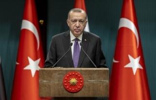 Cumhurbaşkanı Erdoğan: TOKİ'nin yapacağı...