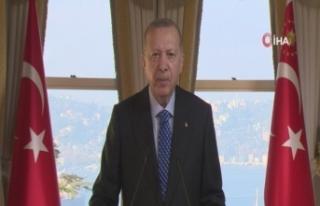 """Cumhurbaşkanı Erdoğan: """"Tüm üretim altyapımızın..."""