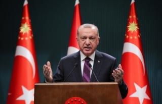 """Cumhurbaşkanı Erdoğan: """"Yetki sahibi olsalar..."""