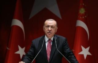 Cumhurbaşkanı Erdoğan'dan Hazreti Mevlana mesajı