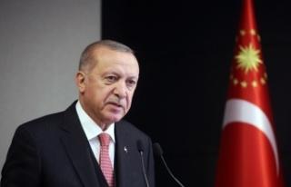 Cumhurbaşkanı Erdoğan'dan vatandaşlara korona...