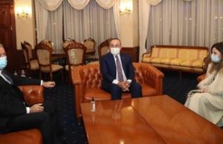 Dışişleri Bakanı Çavuşoğlu ve Milli Savunma...
