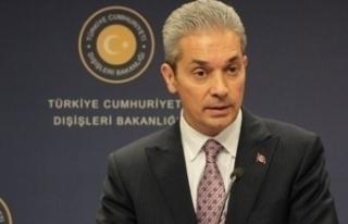 Dışişleri Bakanlığı Sözcüsü Aksoy'dan ateşkesi...