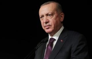 Cumhurbaşkanı Erdoğan: 2021 yılında da her zaman...