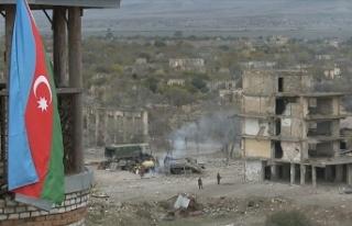 Ermenistan güçleri Dağlık Karabağ'da ateşkesi...
