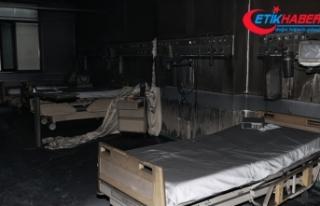 Gaziantep'teki hastanede çıkan yangında hayatını...