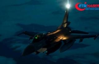 Irak'ın kuzeyinde 8 PKK'lı terörist etkisiz...