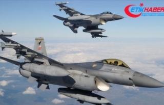 Irak'ın kuzeyindeki Avaşin bölgesinde 3 PKK'lı...