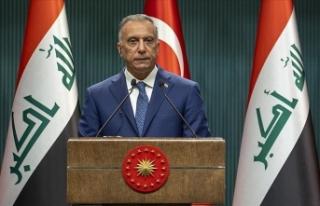 Irak Başbakanı Kazımi: Türkiye'nin güvenliğini...