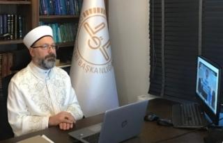 """""""İslam, suyu ölçülü kullanmayı ve israf etmemeyi..."""