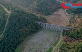 İstanbul'un barajlarındaki su seviyesi ortalaması...