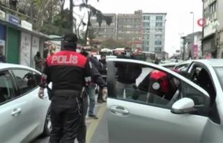 İstanbul'da 34 araç trafikten men edildi, 124...