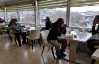 İstanbul Valiliğince evsiz vatandaşlar otellerde...