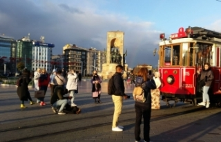 İstanbul'a 10 ayda 4,2 milyon turist geldi