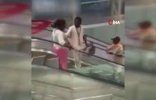Kamerun'da halkın yürüyen merdivenle imtihanı...