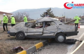 Kastamonu'da feci kaza: 2 ölü, 2 yaralı