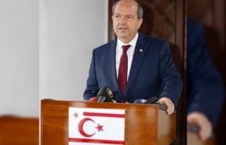 KKTC Cumhurbaşkanı Tatar'dan 2'nci Cumhurbaşkanı...