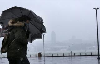 Marmara ve Kuzey Ege için fırtına uyarısı