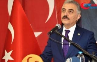 MHP'li Büyükataman: Davutoğlu'nun beynine...