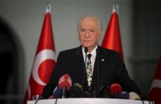 MHP Lideri Bahçeli: Uluslararası toplumun gözü...