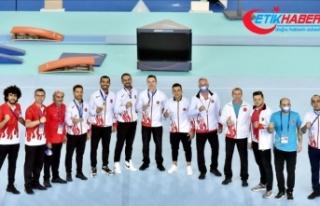 Milli cimnastikçiler, Avrupa Şampiyonası'nda...