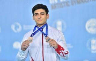 Milli sporculardan Avrupa Erkekler Artistik Cimnastik...