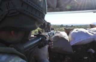 Barış Pınarı bölgesinde 20 PKK/YPG'li terörist...